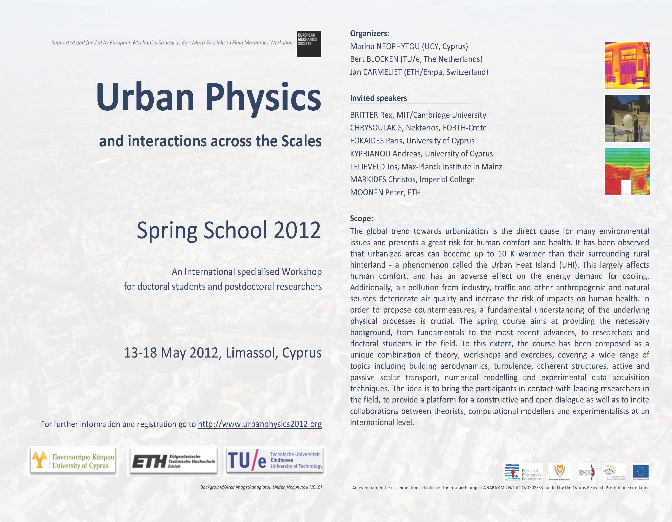 Urban Physics 2012