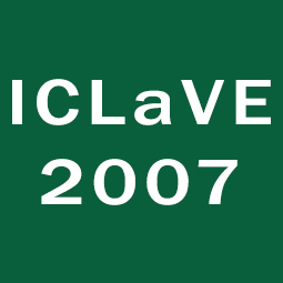 ICLAVE2007